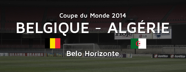 Belgique Algerie avant match