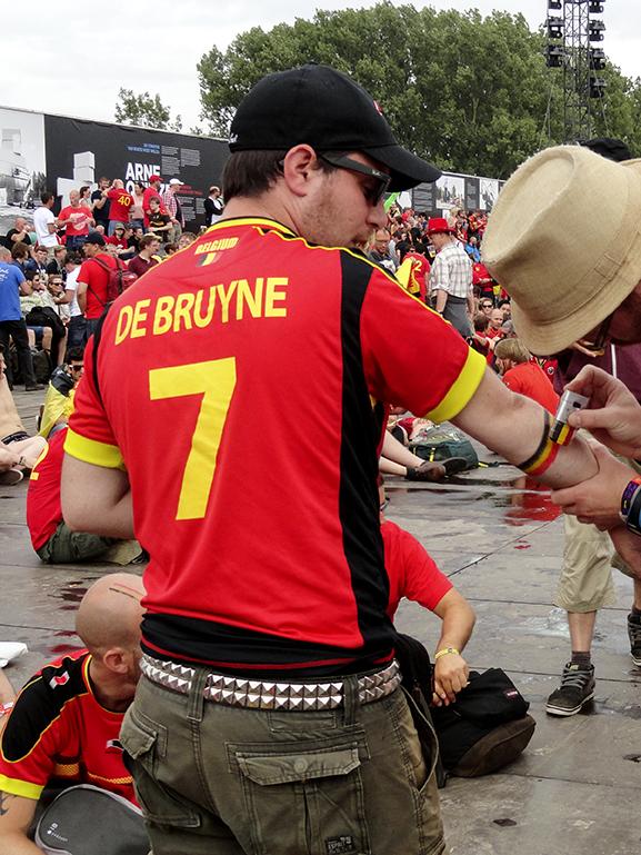 Argentine - Belgique à Werchter DSC04689